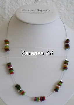 CErsh - Rainbow shells - Necklace