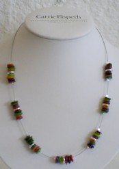 Rainbow shells - Necklace