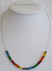 Rainbow Haematite - Necklace