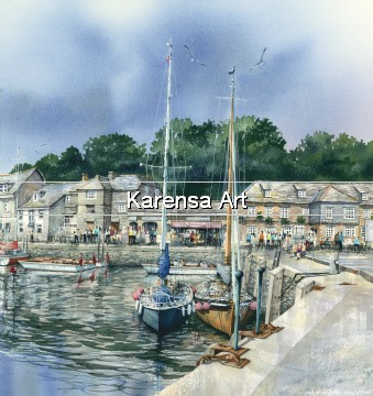 CMCjip - July in Padstow - Print