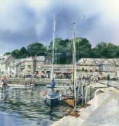 July in Padstow - Print