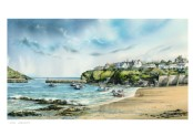 Turning Tide, Port Isaac - Print