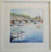 Padstow Harbour - Watercolour