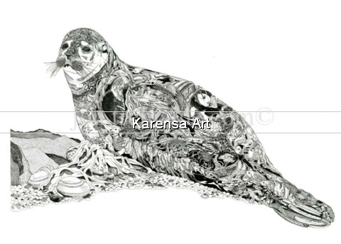 JTslep - Seal - Limited Edition Print