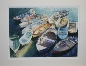 Boat Party - Mounted Print
