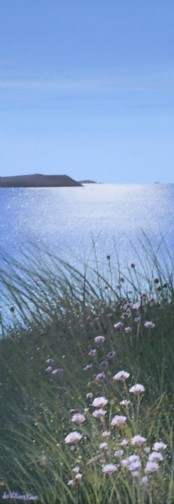Early Morning New Polzeath - Acrylic