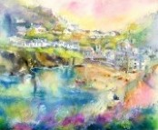 Port Isaac Harbour Limited Edition Print